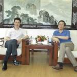 卢雍政书记在团中央接待欧华青联代表
