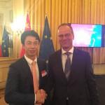 欧盟委员会教育、文化、青年和体育委员瑙夫劳契奇接见傅旭海会长